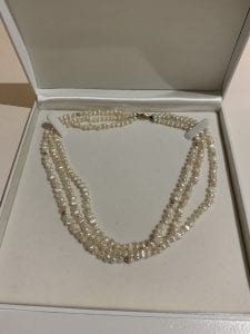 Rice Pearl Necklace 2