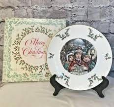 1981 Christmas Plate